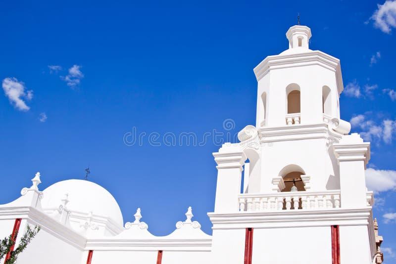 San Xavier del Bac stock afbeeldingen