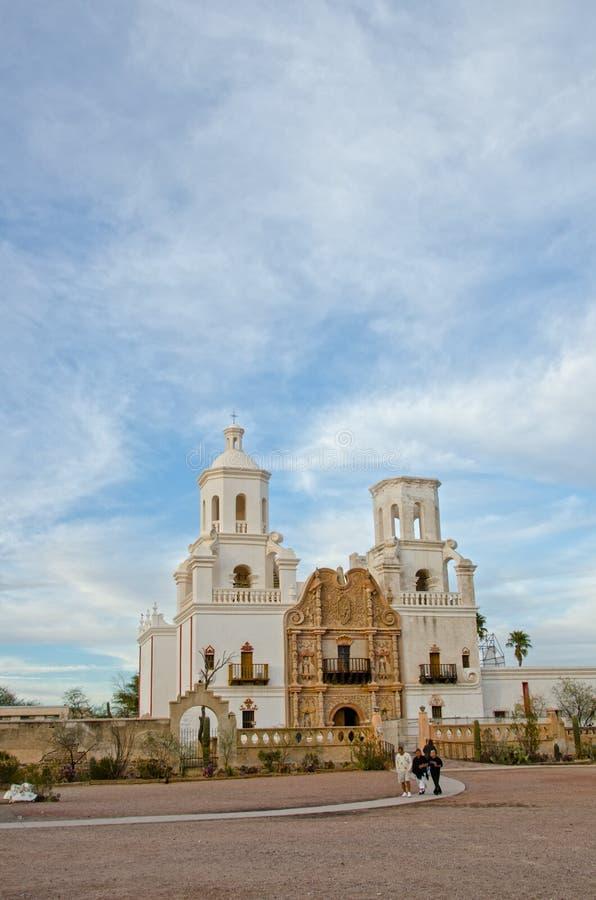 San Xavier del Bac Mission stock afbeelding