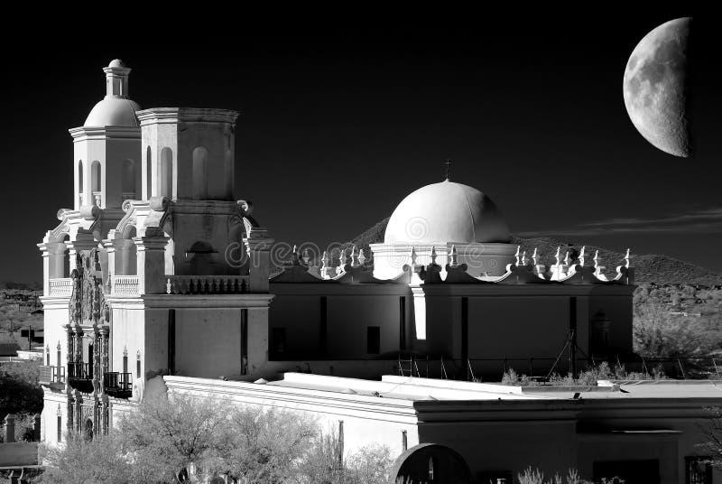 San Xavier Mission stock foto