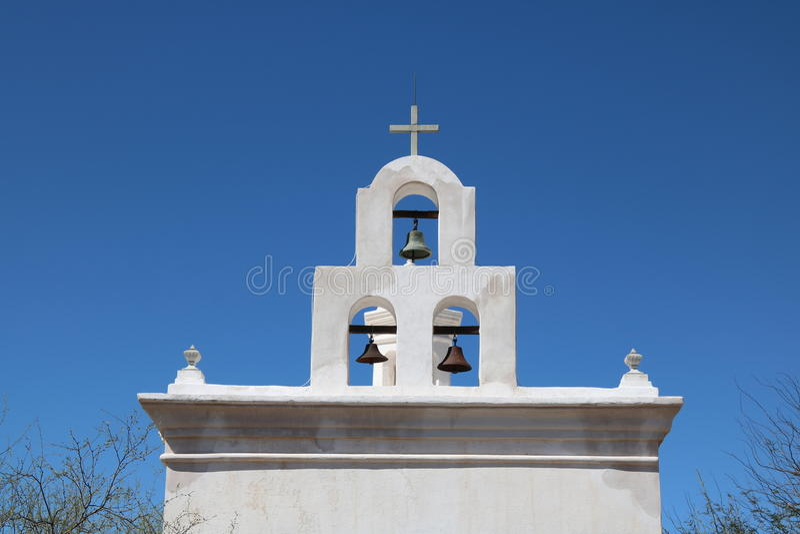 San Xavier Mission stock fotografie
