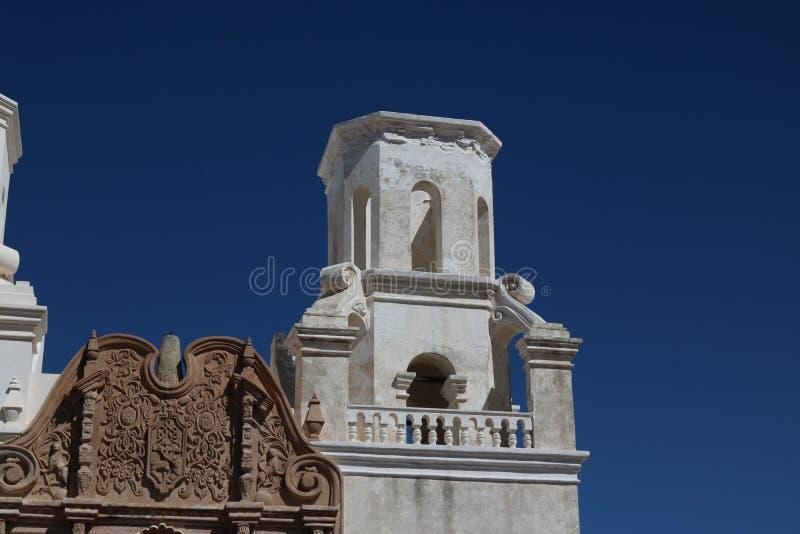 San Xavier Mission stock foto's