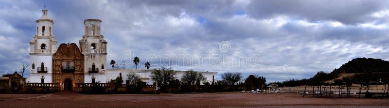 San Xavier Mission Christian Achurch immagini stock