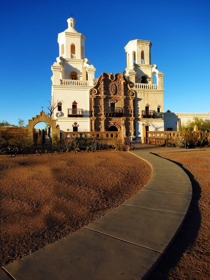 San Xavier Mission Christian Church immagine stock libera da diritti