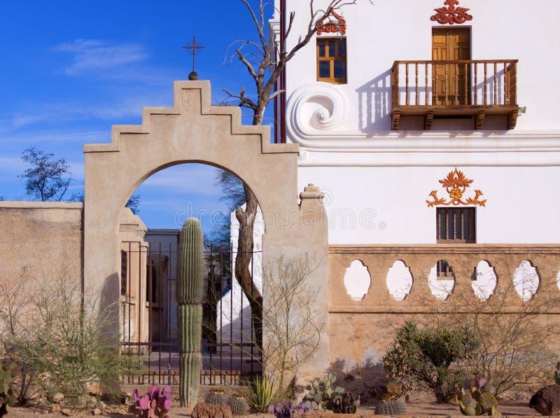 San Xavier Mission Tucson, Arizona immagini stock libere da diritti