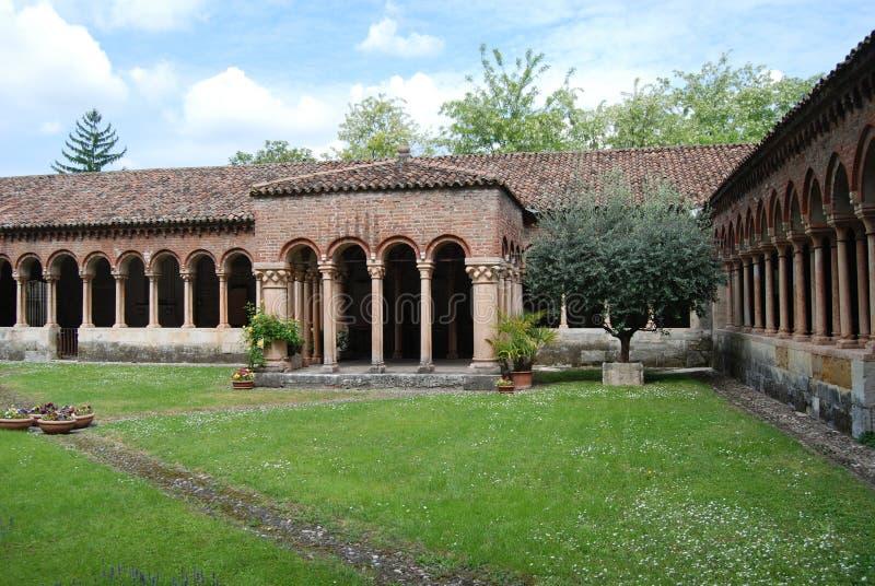 San Zeno Cathedral em Verona imagem de stock royalty free