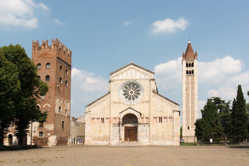 San Zeno Verona Italy foto de archivo libre de regalías
