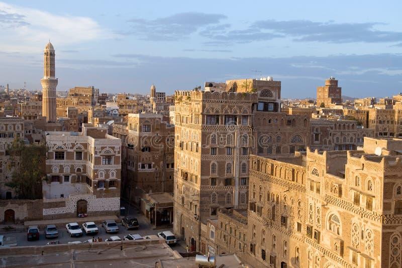 Sana'a 0164 stockfotos