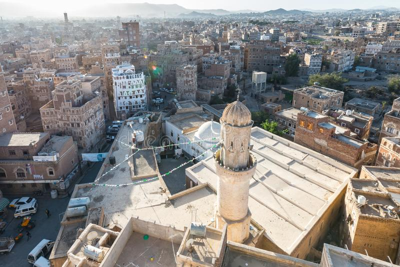 Sana'a, Jemen fotografia royalty free