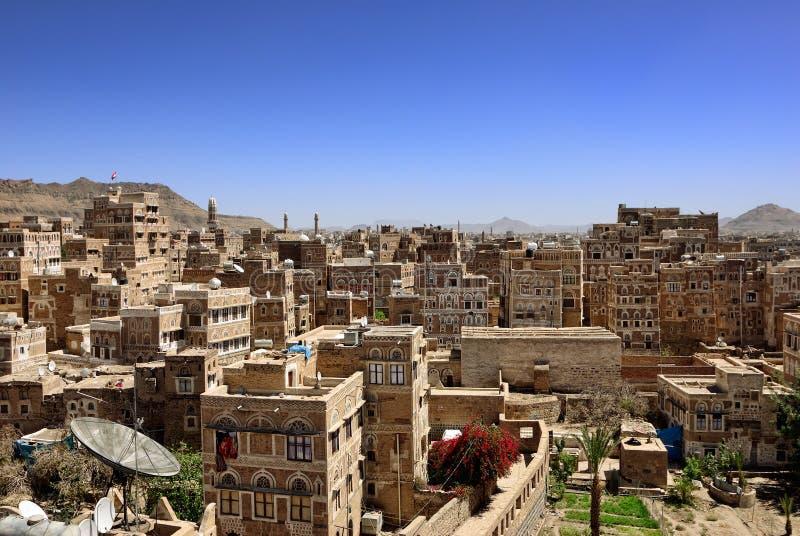 Sanaa, der Jemen stockbild