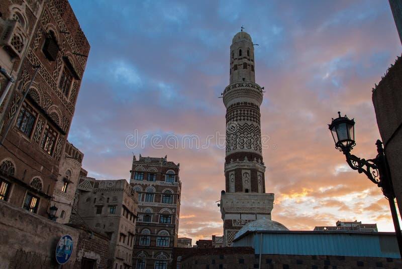 Sanaa, Jemen zdjęcia stock