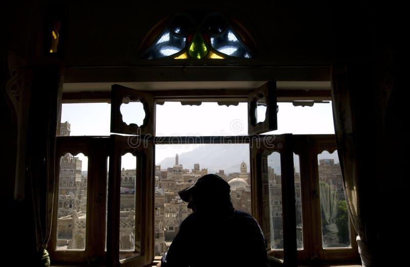 Sanaa Yemen stockbild