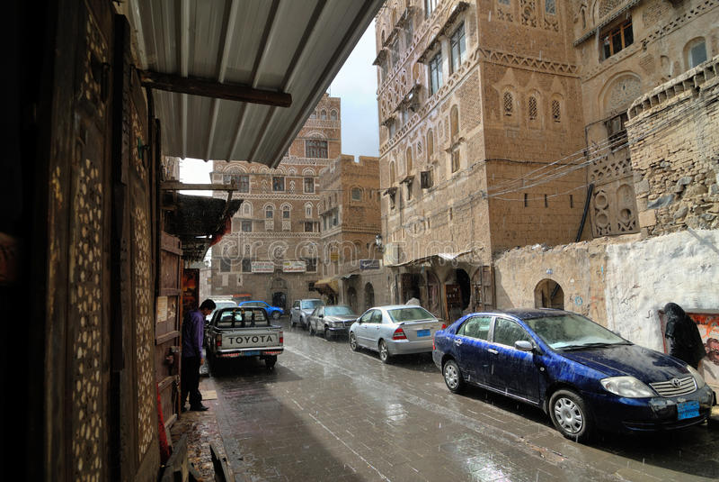 sanaa Yemen fotografia royalty free