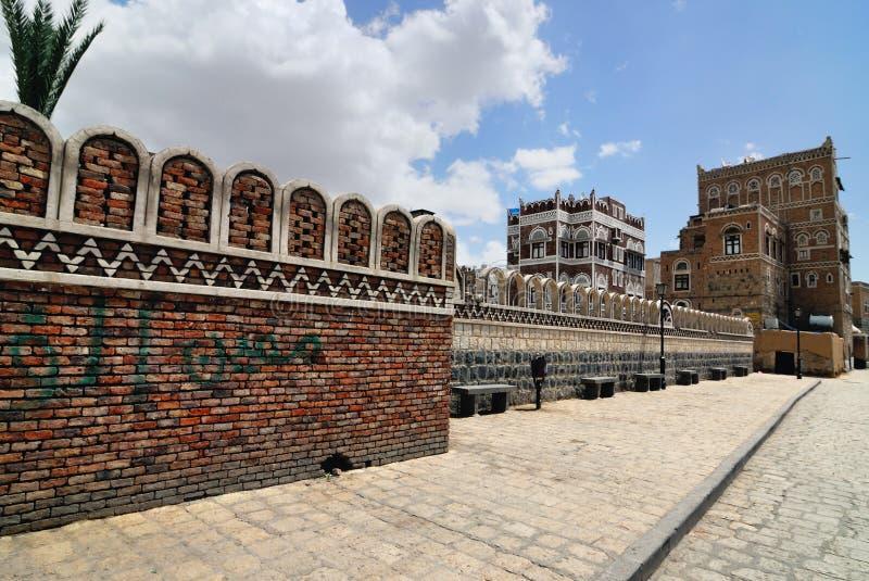sanaa Yemen fotografia stock