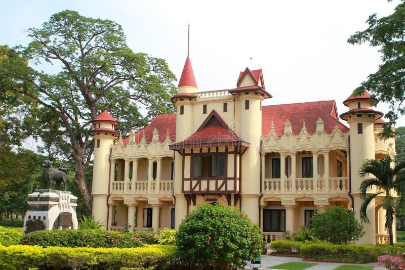Sanam Chan pałac, Nakhon pathom, Tajlandia zdjęcie royalty free