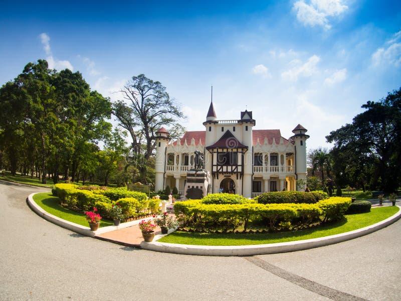 Sanam Chan pałac w Nakhon pathom obraz stock