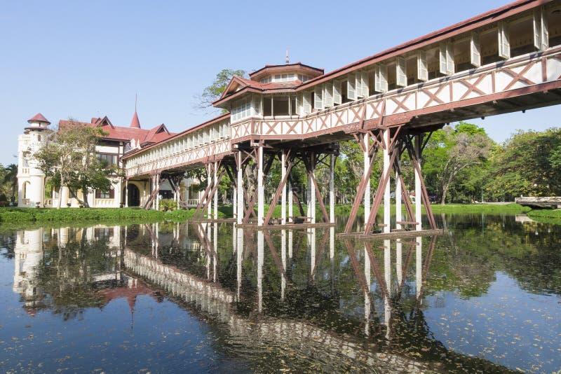 Sanam Chandra Palace è una struttura del tipo di castello minuscola sviluppata in a fotografie stock