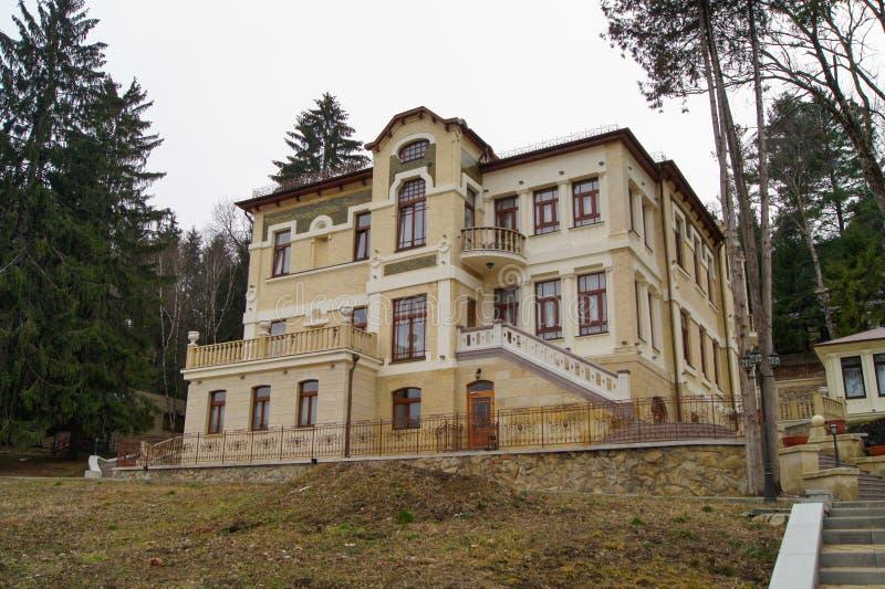 Sanatório em Kmslovodske imagens de stock royalty free