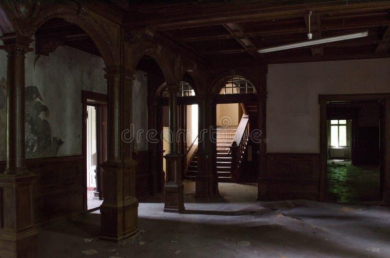 Sanatório velho fotografia de stock royalty free