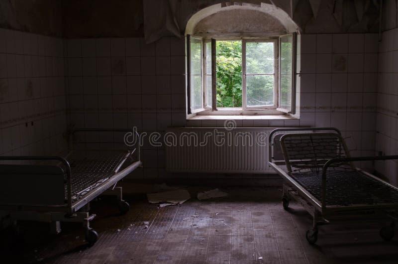 Sanatório velho imagens de stock