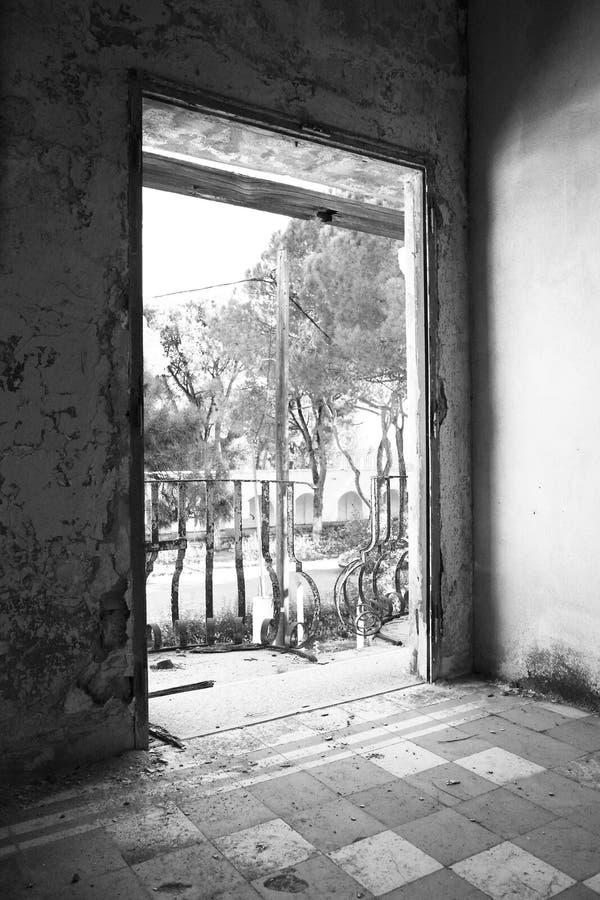 Sanatorio abbandonato immagine stock libera da diritti