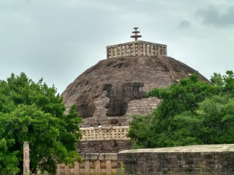 Sanchi stupa obrazy stock