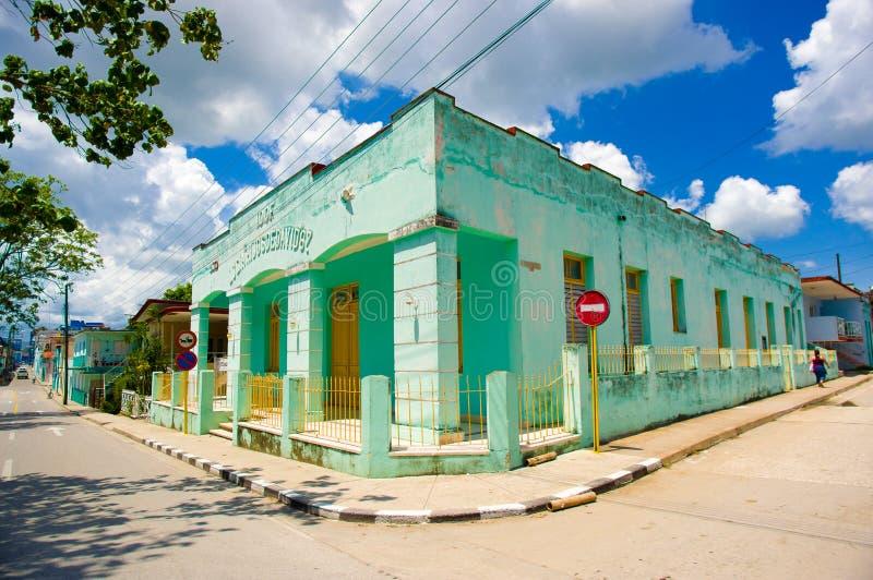SANCTI SPIRITUS, КУБА - 5-ОЕ СЕНТЯБРЯ 2015: Латинский стоковое фото rf