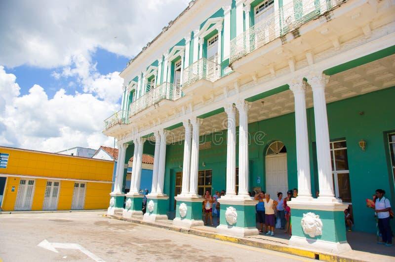 SANCTI SPIRITUS, CUBA - 5 DE SEPTIEMBRE DE 2015: Latino fotos de archivo libres de regalías