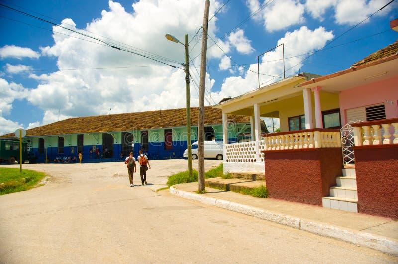 SANCTI SPIRITUS, CUBA - 5 DE SETEMBRO DE 2015: Latim imagens de stock royalty free