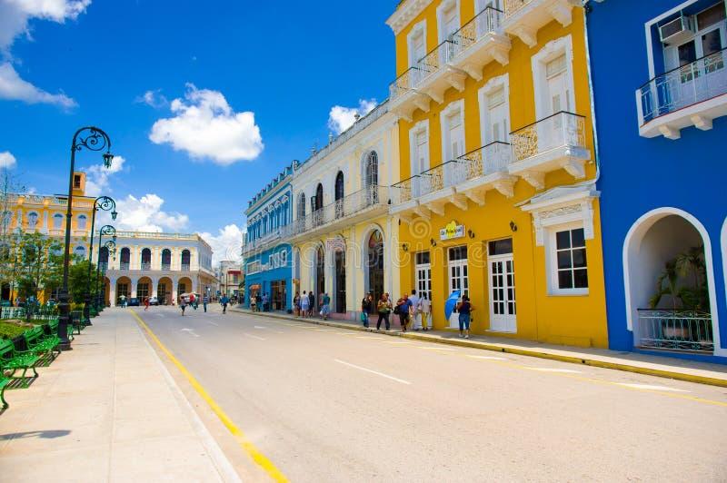 SANCTI SPIRITUS, CUBA - SEPTEMBER 5, 2015: Latin stock images