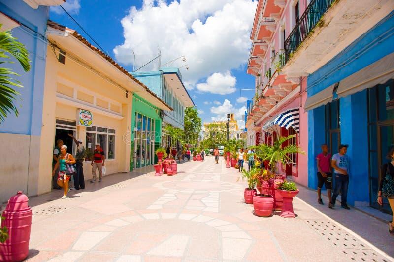 SANCTI SPIRITUS, CUBA - SEPTEMBER 5, 2015: Latin stock photo