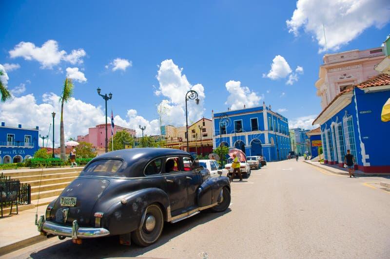 SANCTI SPIRITUS, CUBA - 5 SEPTEMBRE 2015 : Latin image stock