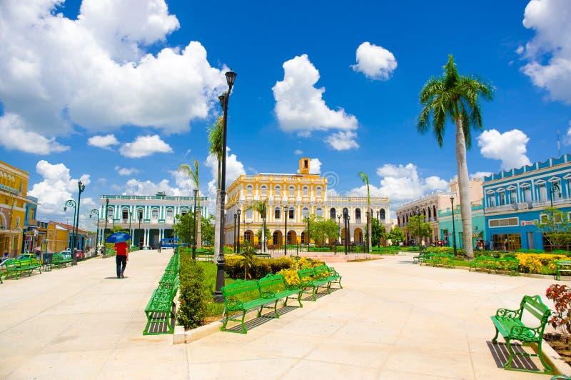 SANCTI SPIRITUS, CUBA - 5 SEPTEMBRE 2015 : Latin photographie stock libre de droits