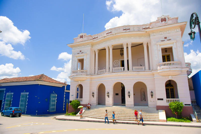 SANCTI SPIRITUS, CUBA - 5 SEPTEMBRE 2015 : Latin images stock