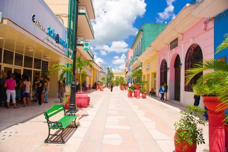 SANCTI SPIRITUS, CUBA - 5 SETTEMBRE 2015: Latino fotografia stock libera da diritti