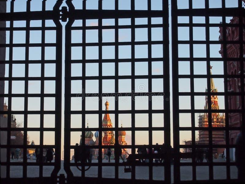 Sancties tegen Rusland royalty-vrije stock foto
