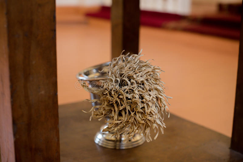 Sanctifying broom royalty free stock photography