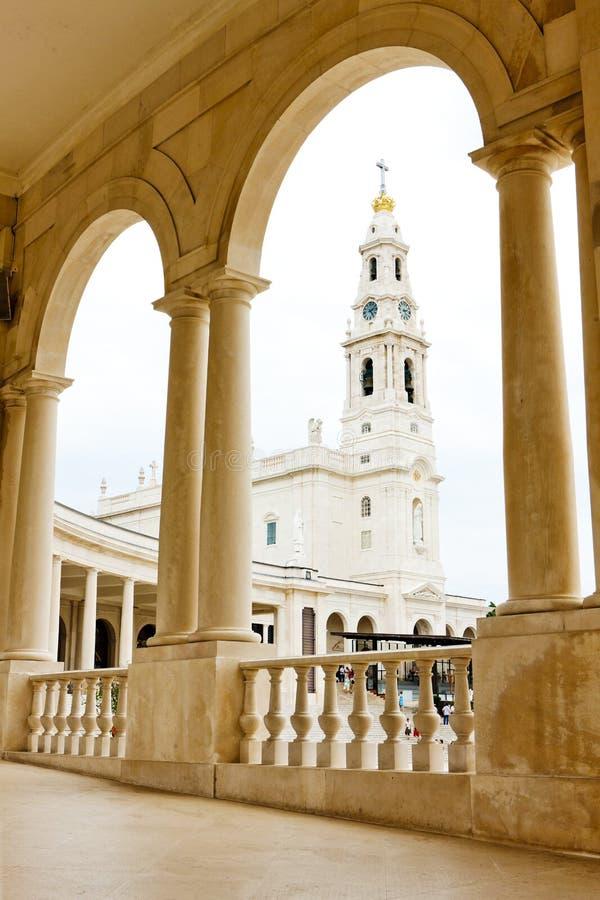 Sanctuaire de notre Madame de Fatima, Fatima, Estremadura, Portugal photo libre de droits