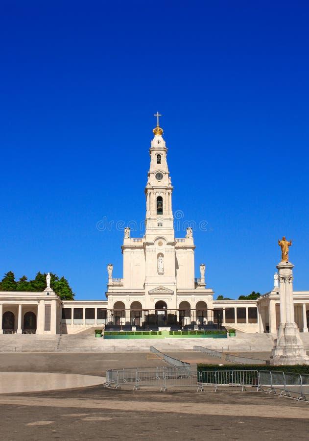 Sanctuaire de notre Madame, Fatima, Portugal photographie stock libre de droits