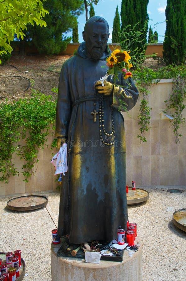 Sanctuaire de San Giovanni Rotondo l'Italie images libres de droits