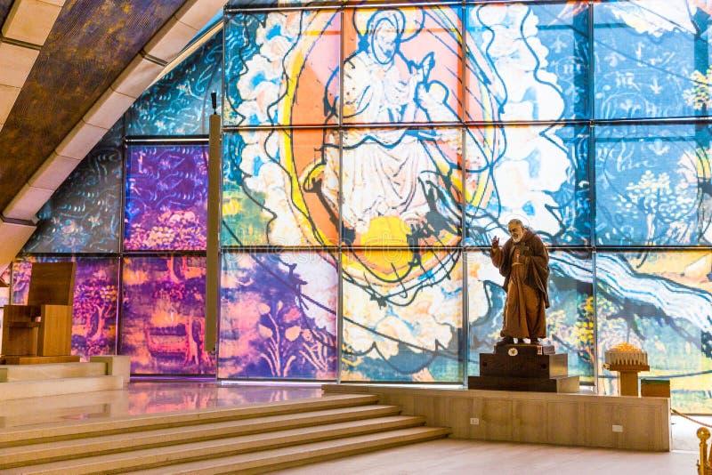 Sanctuaire de San Giovanni Rotondo, Pouilles, Italie photo stock