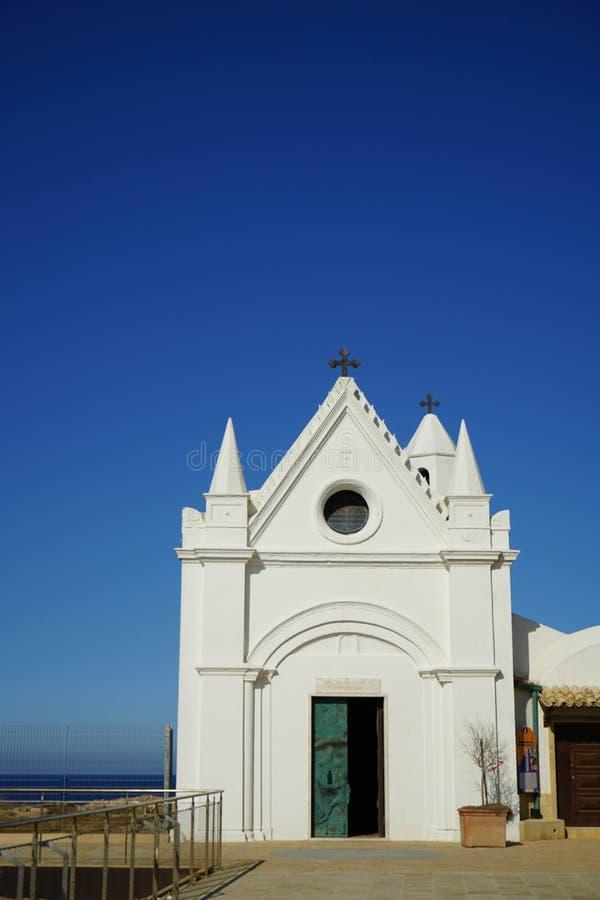 Sanctuaire de Santa Maria di Capo Colonna photographie stock