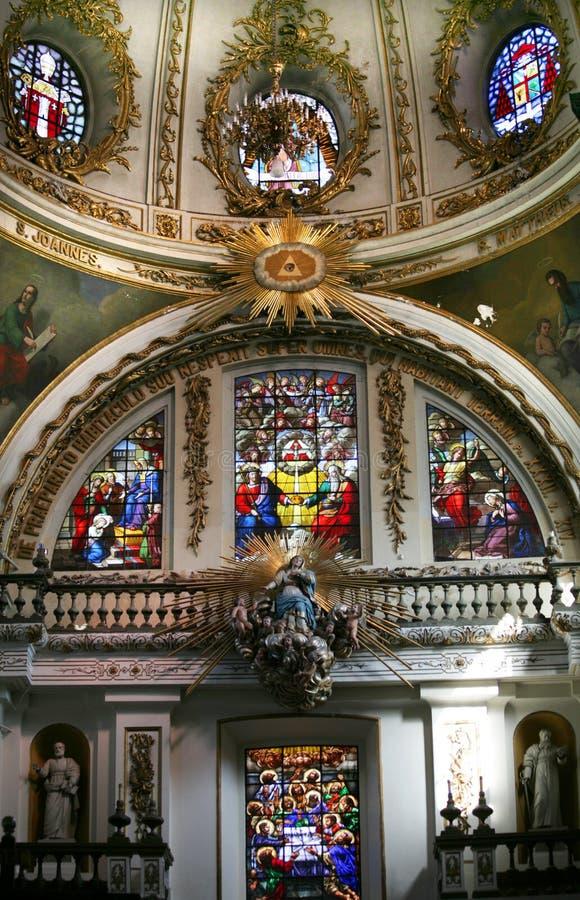 Sanctuaire du Mexique de cathédrale de Guadalajara images libres de droits