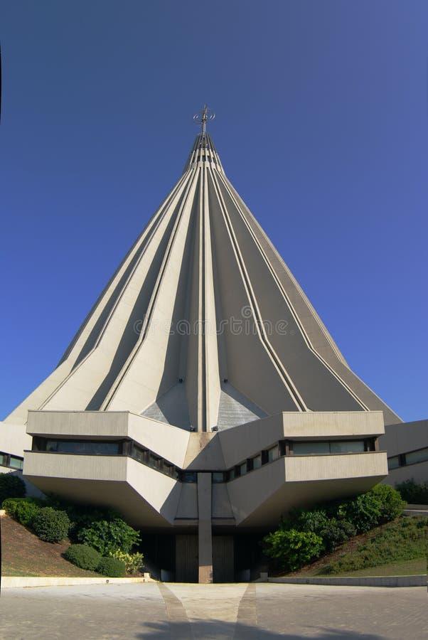 Sanctuaire Madonna de Syracuse photos libres de droits