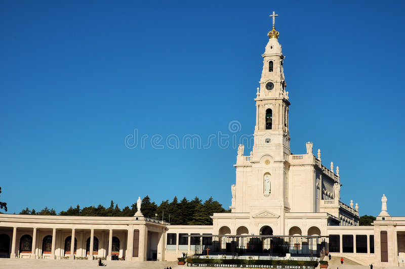 Sanctuary of Fatima royalty free stock photos