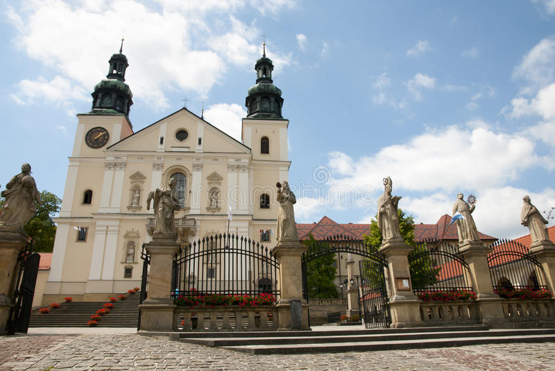 Sanctuary of Kalwaria Zebrzydowska - Poland stock photos