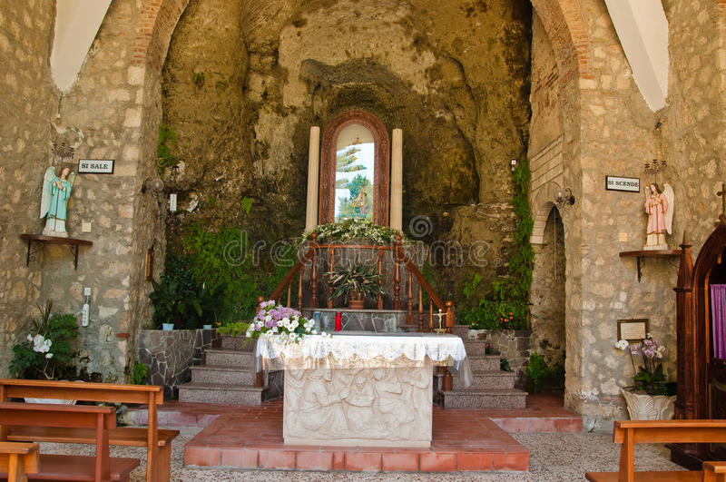 Sanctuary of the Madonna delle Fonti in the Calabrian city of s stock photos
