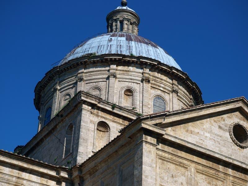The Sanctuary Of The Madonna Di San Biagio, Montepulciano. Tuscany,Italy stock photos