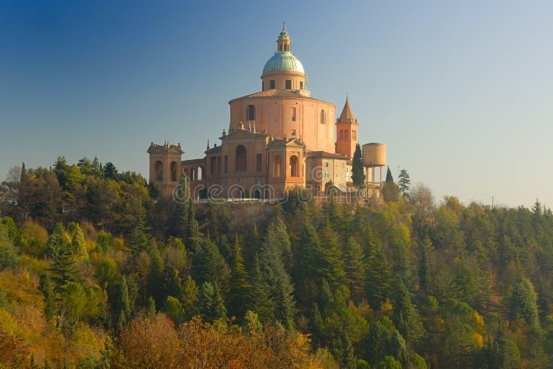 Sanctuary of the Madonna di San Luca royalty free stock photos