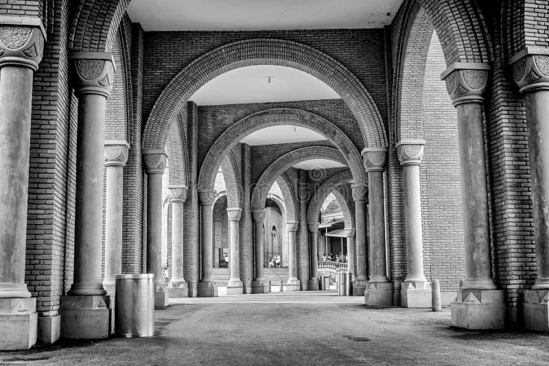 National Sanctuary Of Our Lady Of Aparecida: Sanctuary Of Our Lady Of Carmen, Calahorra. Stock Image