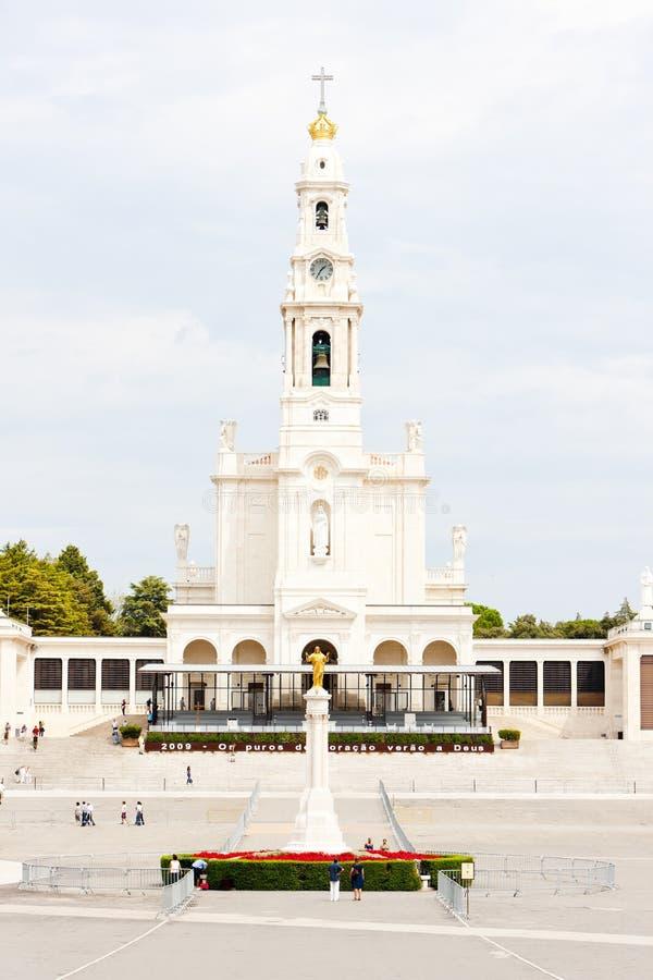 Sanctuary of Our Lady of Fatima, Fatima, Estremadura, Portugal stock image